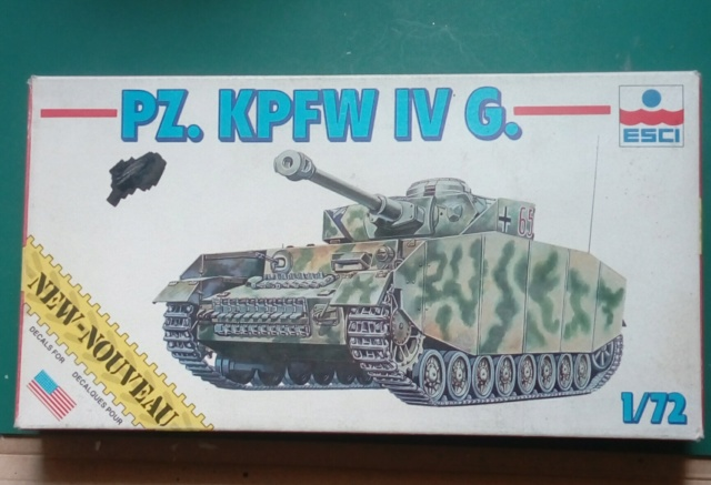 Pz.Kpfw  IV auf G - ESCI - 1/72  02-03-10