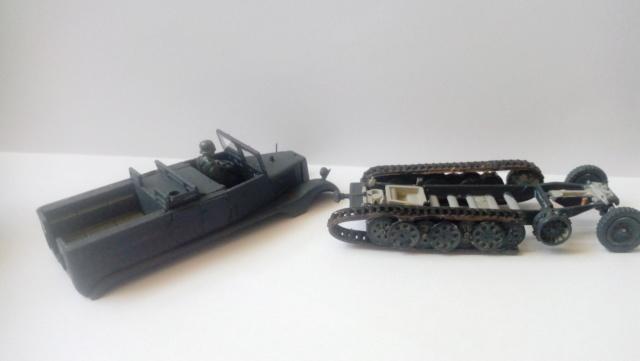 Sd.Kfz. 11  +  Pak 40 -  Revell -- 1/76 02-08-16