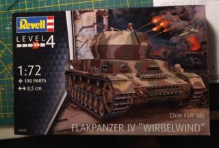 Flakpanzer IV Wirbelwind -- revell --1/72 02-08-17
