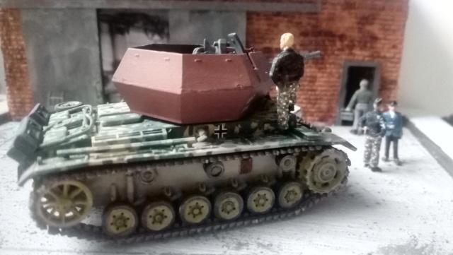 """Pz.Kpfw. III """"Ostwind""""  37mm - REVELL - 1/72 03-10-14"""
