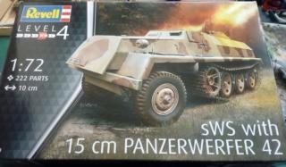 15 cm PzWf 42 auf sWs - Revell - 1/72  05-04-10