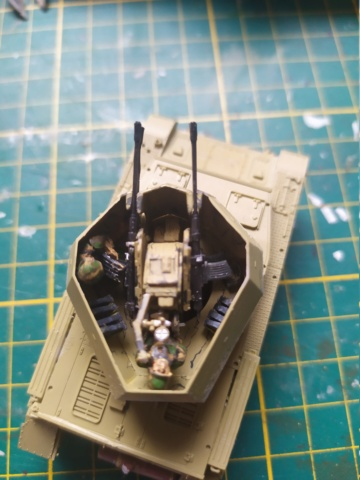 Flakpanzer IV Wirbelwind -- revell --1/72 05-08-11