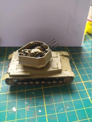 Flakpanzer IV Wirbelwind -- revell --1/72 05-08-12