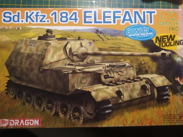 Sdkfz 184 Elefant  -- Dragon -- 1/72 07-09-12