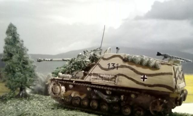 """Sd.Kfz 164 """" Nashorn """" --Revell -- 1/72 10-01-10"""