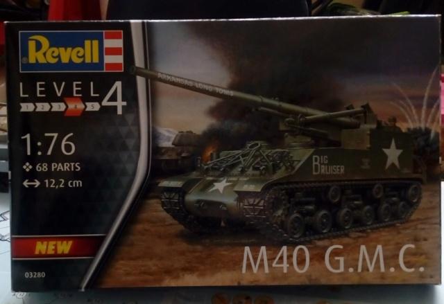M 40 GMC Long tom 155 mm . --Revell -- 1/72 10-02-11