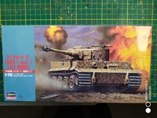 TIGRE I Ausf.E --Hasegawa  --- 1/72 10-11-10