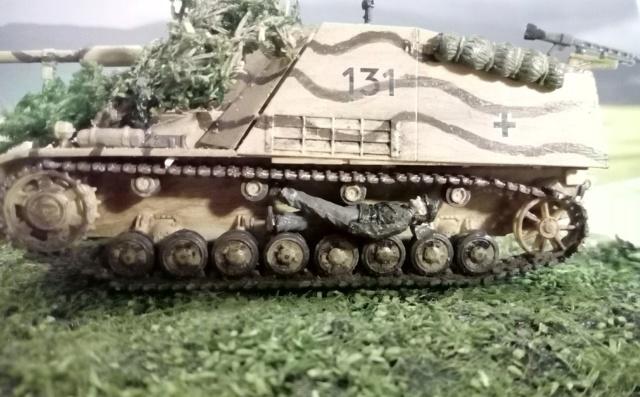 """Sd.Kfz 164 """" Nashorn """" --Revell -- 1/72 11-01-10"""