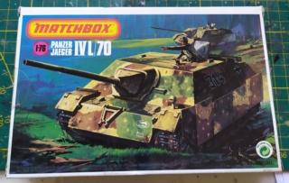 Sd.Kfz. 162 Panzerjaeger IV  -  Matchbox  - 1/76 13-12-10