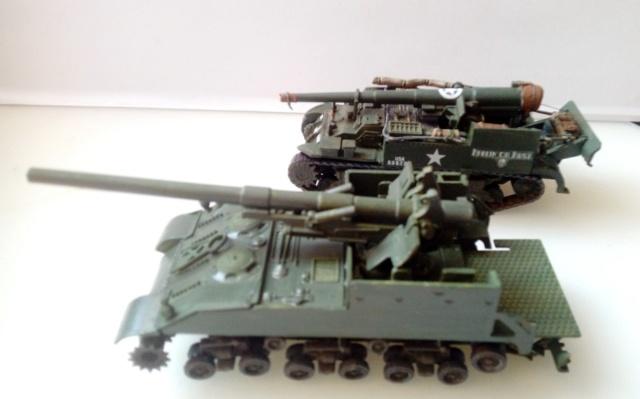 M 40 GMC Long tom 155 mm . --Revell -- 1/72 15-02-10