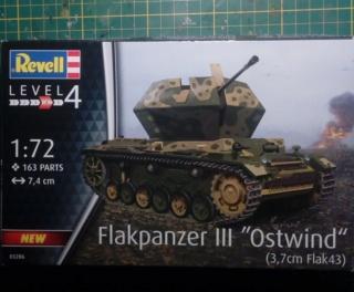 """Pz.Kpfw. III """"Ostwind""""  37mm - REVELL - 1/72 15-09-10"""