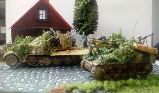 Achtung JABO ! Sd.Kfz. 7/1 (Revell)---- 1/72 15-12-11