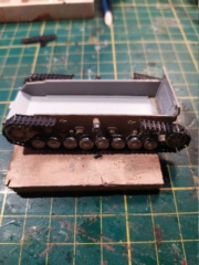 Sd.Kfz. 162 Panzerjaeger IV  -  Matchbox  - 1/76 16-12-10