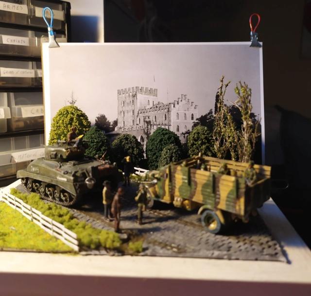 Bataille du Chateau Itter en Autriche 1945 16076112