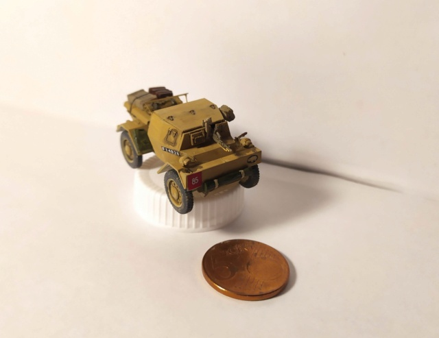 Daimler Dingo Mk1a Scout Car --  S-MODEL -- 1/72 16142611