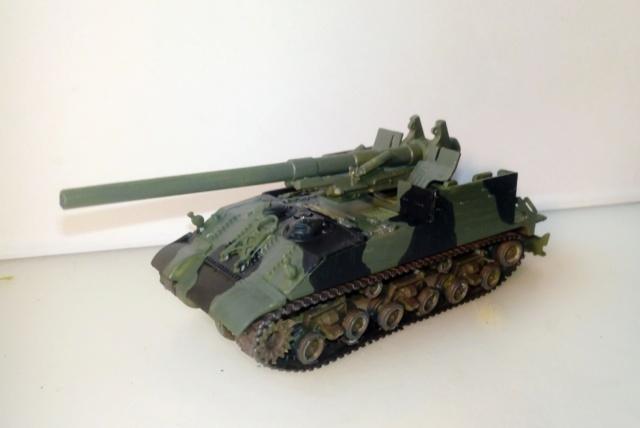 M 40 GMC Long tom 155 mm . --Revell -- 1/72 18-02-10