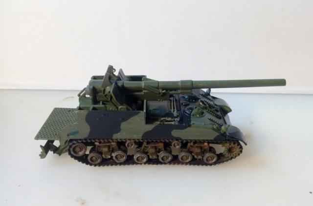 M 40 GMC Long tom 155 mm . --Revell -- 1/72 18-02-11