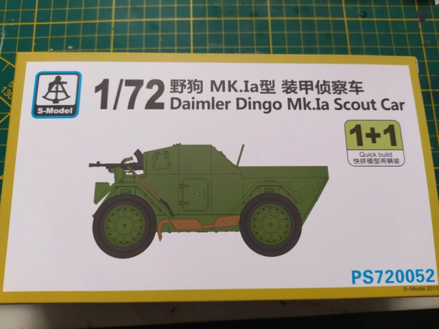 Daimler Dingo Mk1a Scout Car --  S-MODEL -- 1/72 18-02-14