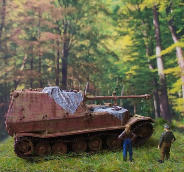 Sdkfz 184 Elefant  -- Dragon -- 1/72 18-09-14