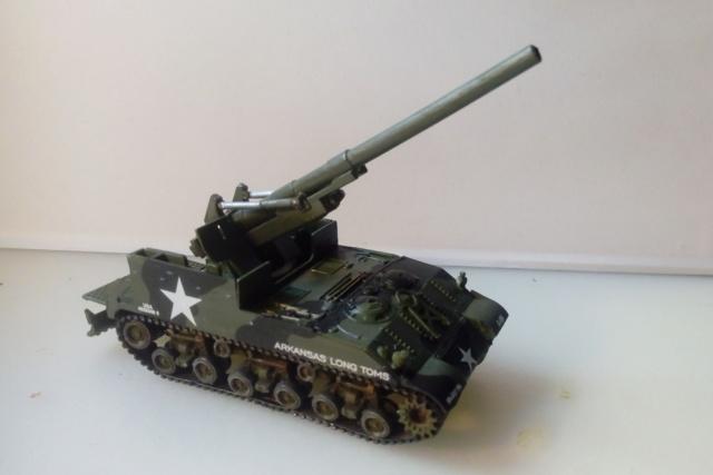 M 40 GMC Long tom 155 mm . --Revell -- 1/72 19-02-10