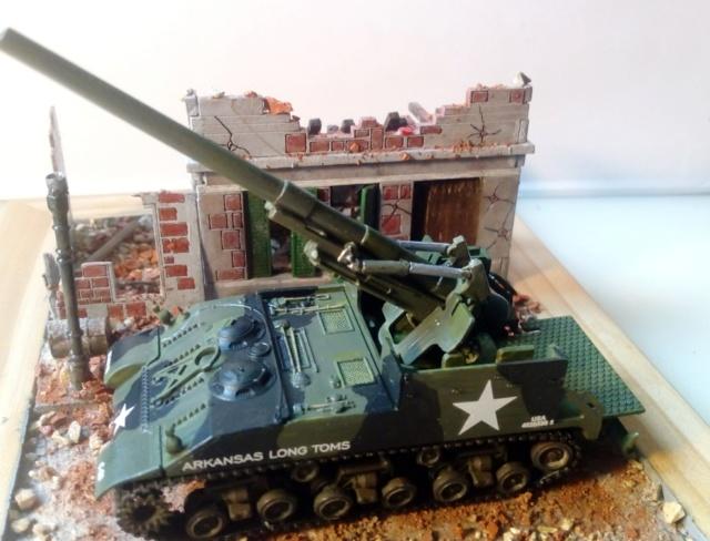 M 40 GMC Long tom 155 mm . --Revell -- 1/72 19-02-11