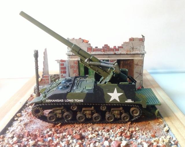 M 40 GMC Long tom 155 mm . --Revell -- 1/72 19-02-12