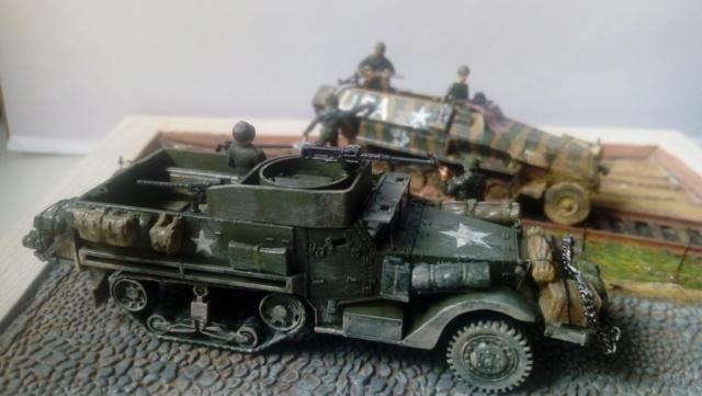 83ème Division d'Iinfanterie US - The Ragtag Circus - Sd.Kfz. 251 & Halftrack M3 - 1/72 19-06-10