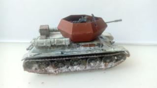 """Pz.Kpfw. III """"Ostwind""""  37mm - REVELL - 1/72 19-09-13"""