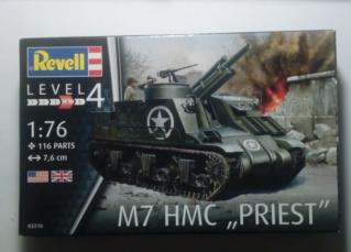 M7 HMC Priest - Revell - 1/76 20-04-10