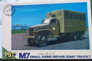 GMC  M7 small armx repair -- PST -- 1/72 20-06-10