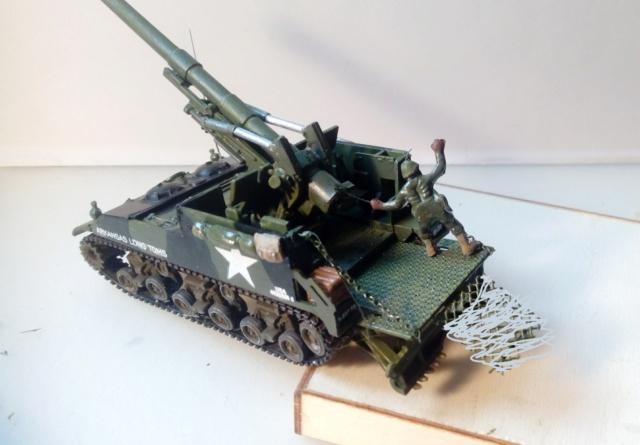 M 40 GMC Long tom 155 mm . --Revell -- 1/72 22-02-10