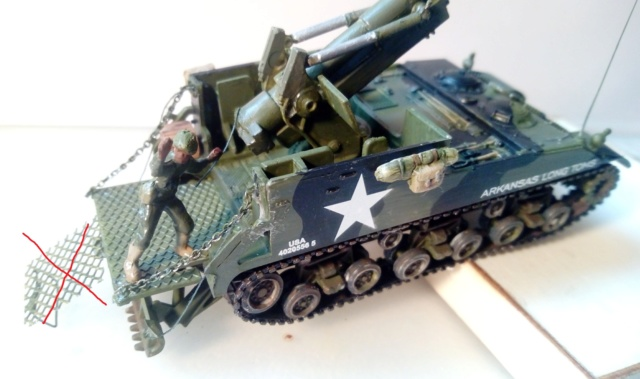 M 40 GMC Long tom 155 mm . --Revell -- 1/72 22-02-11