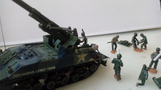 M 40 GMC Long tom 155 mm . --Revell -- 1/72 23-02-10