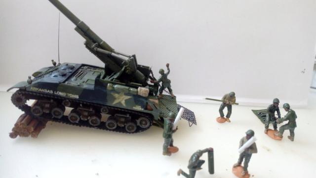 M 40 GMC Long tom 155 mm . --Revell -- 1/72 23-02-12