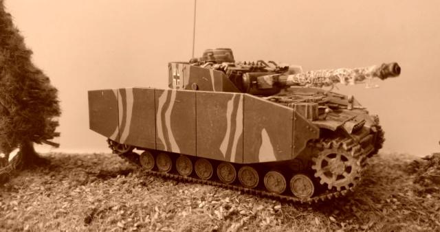 Pz.Kpfw IV auf G - ESCI - 1/72 23-03-10