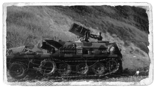 15 cm PzWf 42 auf sWs - Revell - 1/72  23-04-12