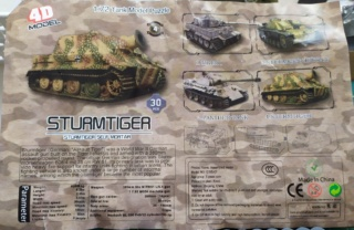 Sturmtiger - 4D Production - 1/72 ? 23-04-17