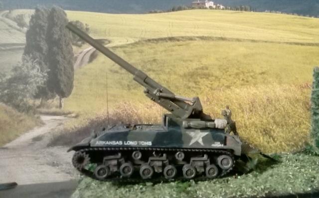 M 40 GMC Long tom 155 mm . --Revell -- 1/72 24-02-10