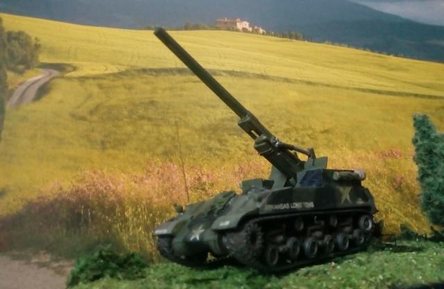 M 40 GMC Long tom 155 mm . --Revell -- 1/72 24-02-11
