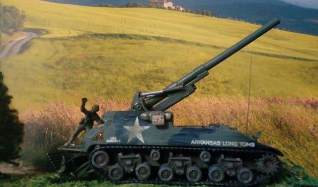 M 40 GMC Long tom 155 mm . --Revell -- 1/72 24-02-12