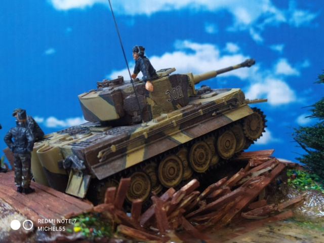 TIGRE I Ausf.E --Hasegawa  --- 1/72 24-11-10