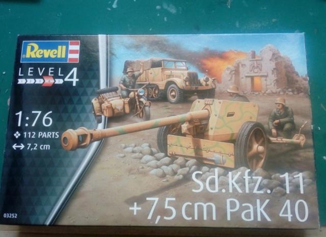 Sd.Kfz. 11  +  Pak 40 -  Revell -- 1/76 28-07-11
