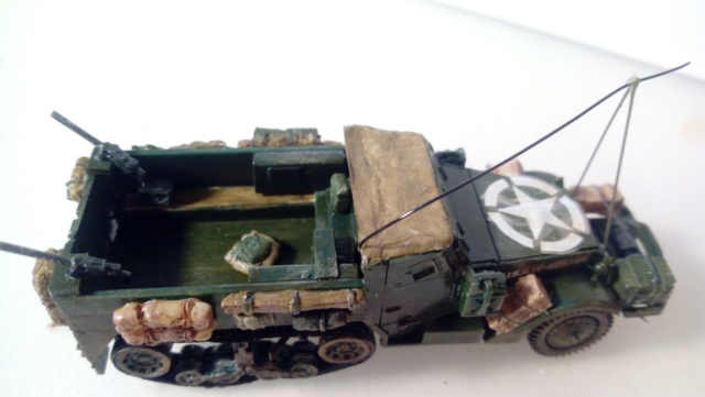 Halftrack M3 -- Revell -- 1/76 29-11-10