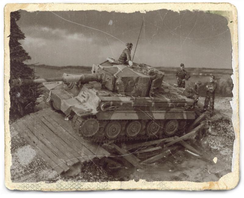 TIGRE I Ausf.E --Hasegawa  --- 1/72 A_l_zo10