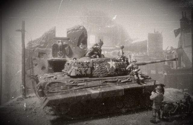 TIGRE II - Altaya & Zvezda - 1/72 Antiqu10