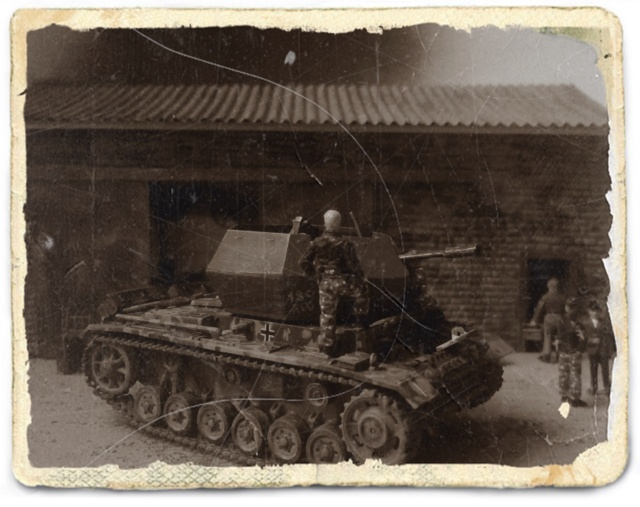"Pz.Kpfw. III ""Ostwind""  37mm - REVELL - 1/72 Antiqu12"