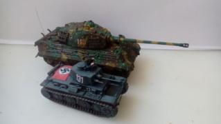 TIGRE II - Altaya & Zvezda - 1/72 Compar10