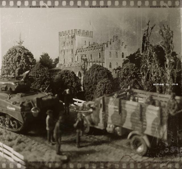 Bataille du Chateau Itter en Autriche 1945 Photo_11