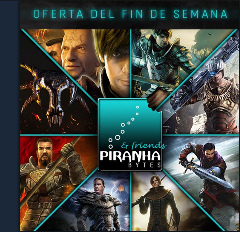 Oferta Piranha Bytes Steam 2019  Piranh10
