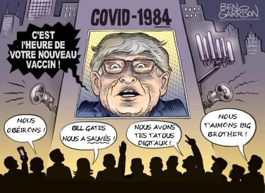 Bill Gates à deux pas de la prison ! Accusé de crimes contre l'humanité ! Covid10